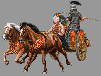 Celtic Chariot by JohnnyShumate