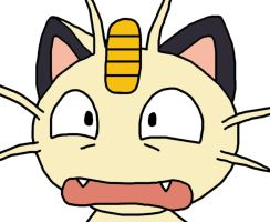 Meowth Funny by GEORDINHO