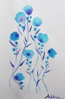 Blue Poppies by AnhPho