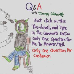 Ask Jimmy Gibson by CelmationPrince