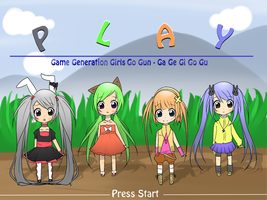 P L A Y - Game Generation Girls Go Gun by RJAce1014