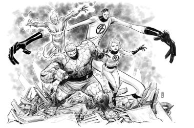 fantastic four by BChing