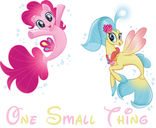One Small Thing (Pinkie Pie And Princess Skystar) by hannah731
