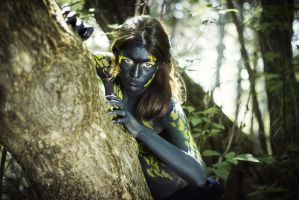 Fire salamander by oleggirl