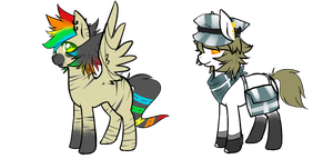 Themed ponies - Open - Bid by Ad-opt