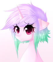 Amour {Gift Portrait} by FluffyMaiden
