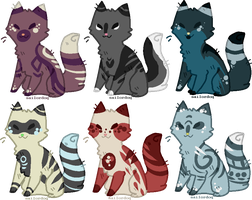 cat adopts (closed) by SanityFox