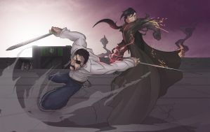 The Battle of Sins by Diam0nt