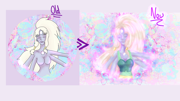 Opal Re:do compare by FlamingRedZombie