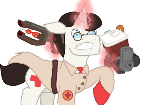 Battle Medic (Art trade: 23QuestionMark) by Medipone
