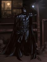 Batman - coloring by Biram-Ba