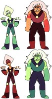 Peridot - Jasper Colorswap by ClockworkWillow