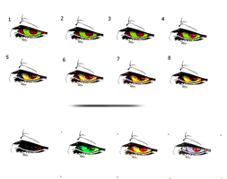 COMMONS EYE - coloring TUTORIAL by W-H-E-A-T