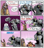 Overwatch Over Kill by electricbunnycomics