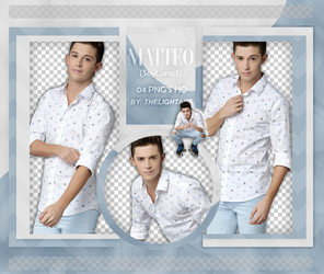 MATTEO PACK PNG by ThelightartOFC