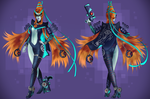 Umbra Witch Midna - Reference by Meeshell-Art