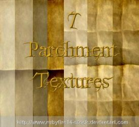 Parchment Textures by Rubyfire14-Stock