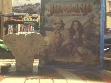 Jumanji welcome to the jungle elephant token by Wil-m-full-j