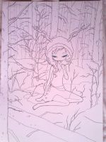 wip - forest by Valerei