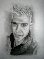 Pencil portrait by IgnacioRC