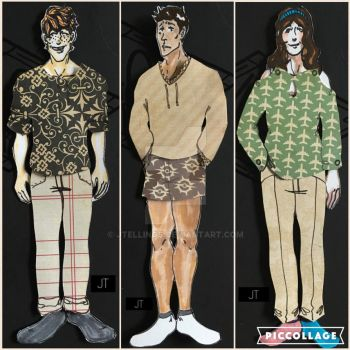 Paper Dolls (Series One) Clothes by JTellings