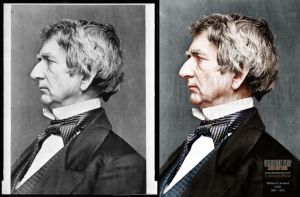 Secretary of State William H. Seward (USA) by ColorizedPast