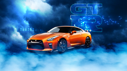 NISSAN GTR WALLPAPER by muamerART