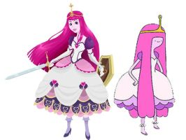 Princess Bubblegum red. comp. by Spi-ritual-ity