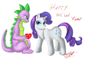 Happy new year by Silnat