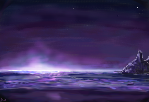 On the verge of night by Clio17