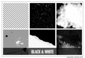 Black-White Icon Textures by animepapers