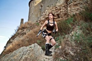 Lara Croft Underworld - ready for action by TanyaCroft
