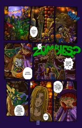 Zombie Knight page 6 by Naeles
