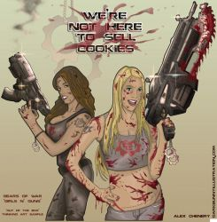 Girls and Guns by D-B-Dot-Com