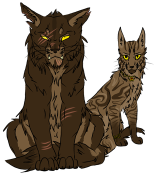 Earthclan Siblings by Forever--Tainted