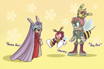 Royal Bee Family by Missplayer30