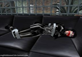Sleepy Latex Slave by EnglishDamsel