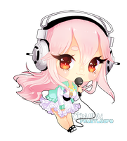 :Raffle Prize: Sonico by CthulhuFruitLoops