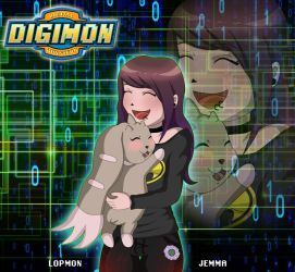 Digimon: Me and Lopmon by Jempower