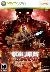 Call of Duty Zombies Game Cover by deLillo-graFix