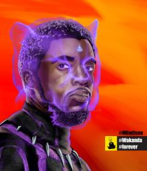 Panther-01-Tchalla by NosliwIll