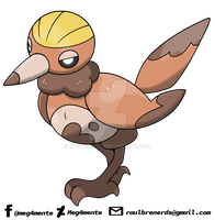 013 - MUJACK (Pokedex ASMS2gen) by Meg4mente
