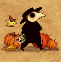 Plague Doctor IX by FrankiesBugs