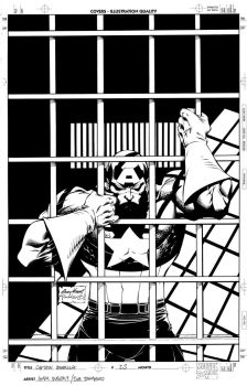 Captain America 23 cover by TimTownsend