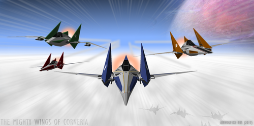 The Mighty Wings Of Corneria by TheBritishTinDog