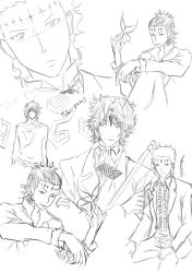 Tyki sketches by zephyx3
