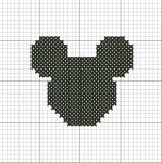 Mickey Silhouette by VickitoriaEmbroidery
