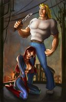 Brock and Molotov by Alayna