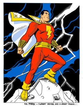 SHAZAM-- or Captain Marvel by Wieringo