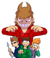 Eddsworld - Who need friends by LordCorale